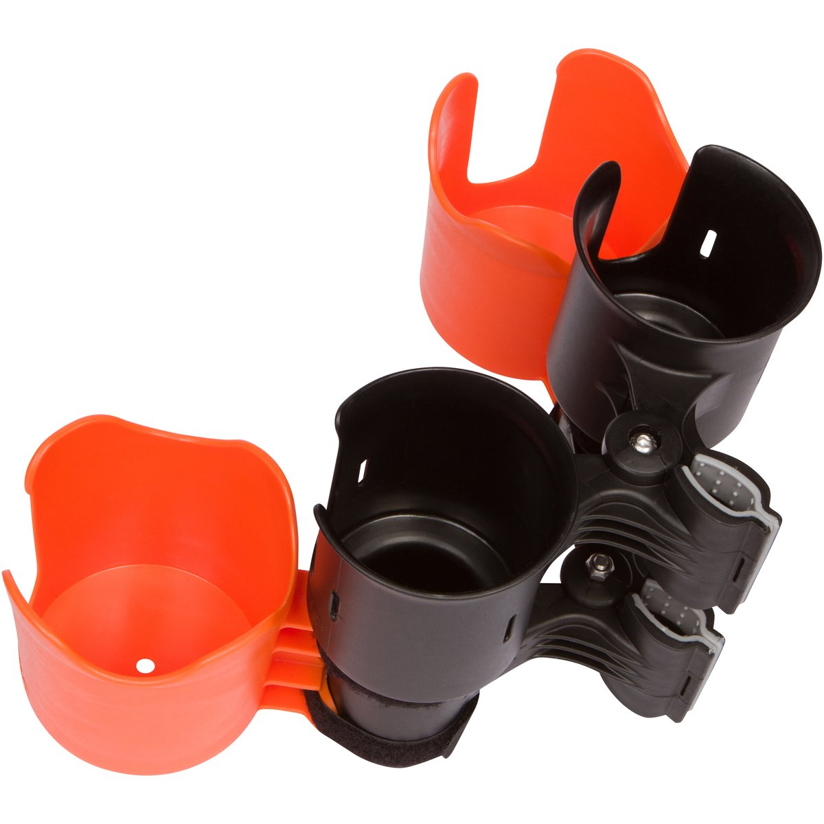 2 Orange RoboCup Pluses attached to Black RoboCup